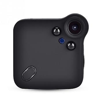 Mini kamera z pamięcią zewnętrzną do 64G, odpowiednia do użytku wewnątrz i na zewnątrz (czarny)