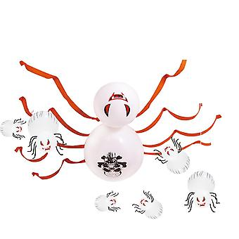 Halloween party decoration 36-inch printed skull balloon spider suit bar layout
