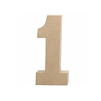 20.5cm Papel Grande Mache Número 1 Formas de Mache de Papel (Paper Mache Shapes) Papier Mache