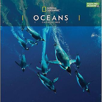Otter House Oceans Nat Geo (pfp) Väggkalender 2022