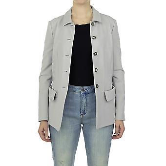 Emporio Armani Women Blazer Regular fit  Full sleeve Grey
