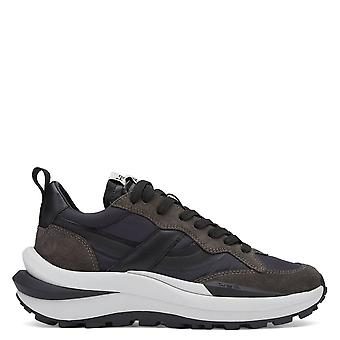 Ash SPIDER 620-01 Navy And Woodash Eco Trainers