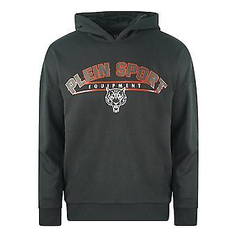 Philipp Plein Sport Equipment Logo Black Hoodie