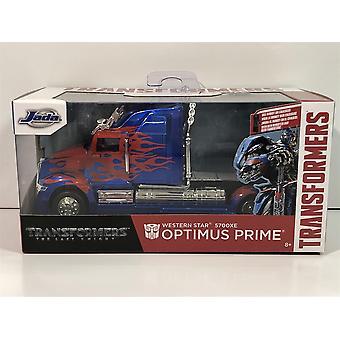 Transformateurs Optimus Prime Western Star 5700 XE 1:32 Échelle Jada 98398