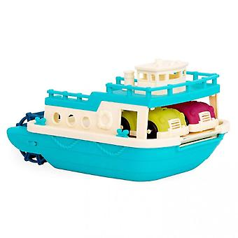 Children's Toy Ferry Floating Bath Toy Boat With Car, Suitable For Toddler Age