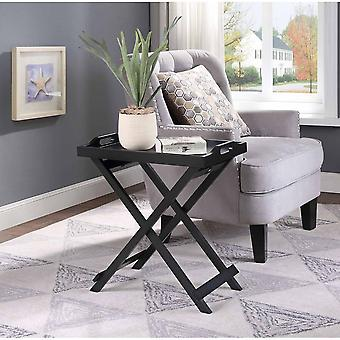 Protable Folding Snack Dining Laptop Desk Serving Tray Table