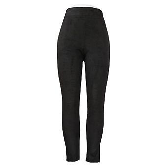 Soft & Cozy Women's Leggings Reg Ankle Length Polyester Black 663276