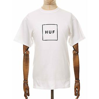 Huf Box Logo Tee - White