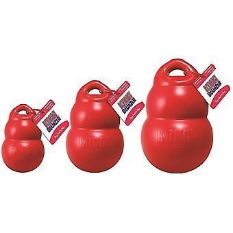 Dog toys bounzer dog toy  medium  red