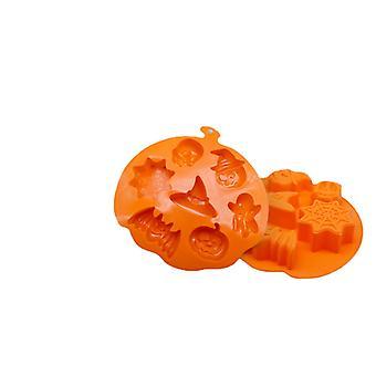 Food Grade Silicone Cake Mold Halloween Pumpkin Silikonowe narzędzia Odporne na wysoką i niską temperaturę silikonowe naczynia do pieczenia