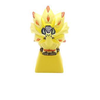 Pikachu Keycap Pet Pokmon Stereo Bagging Mechanical Keyboard Personality Translucent Diy