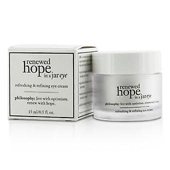 Philosophy Renewed Hope In A Jar Refreshing & Refining Eye Cream - 15ml/0.5oz