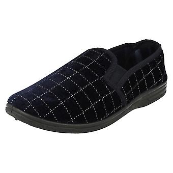 Mens Spot On Quality Slippers MS44