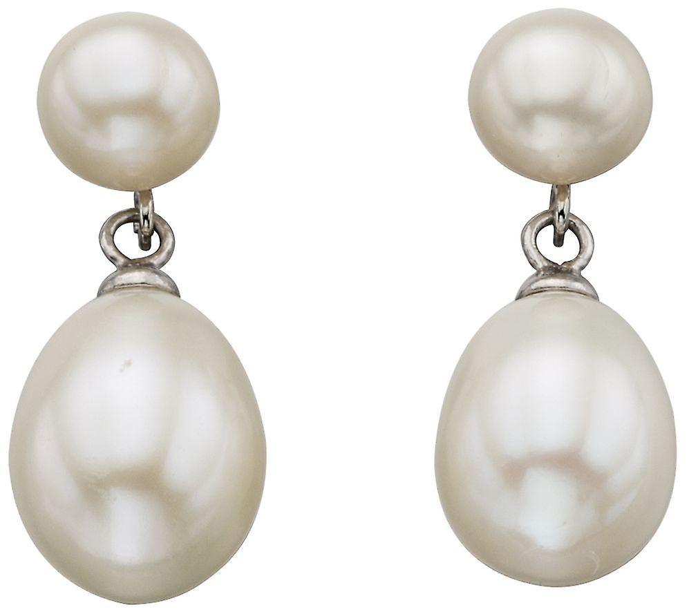 925 Silver Pearl Earring