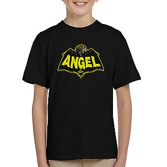 Angel Of Death Hellboy Kid's T-Shirt