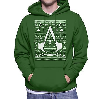 Christmas Knit Assassins Creed Men's Hooded Sweatshirt