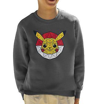 Bluza PolyChu Pokemon Pikachu Wielokąt Stainglass dziecko