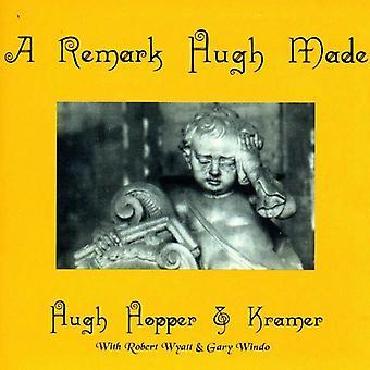 Hopper/Kramer - Remark Hugh Made/Huge [CD] USA import