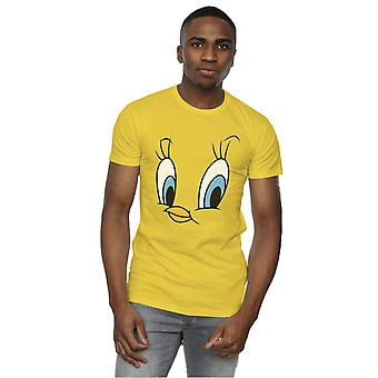 Looney Tunes mænds Tweety Pie Face T-Shirt