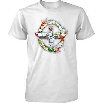 Frieden durch Bomben - Floral Effect - Kinder T Shirt