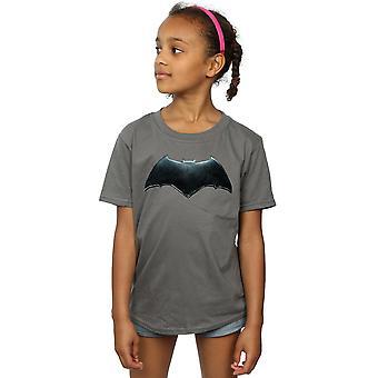 DC Comics Girls Justice League Movie Batman Emblem T-Shirt