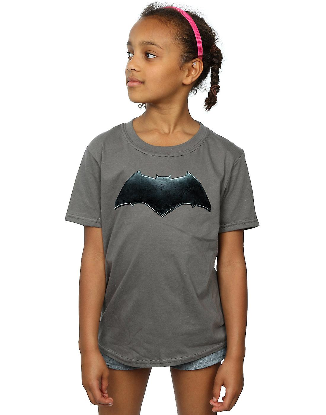 DC Comics meisjes Justice League film Batman embleem T-Shirt