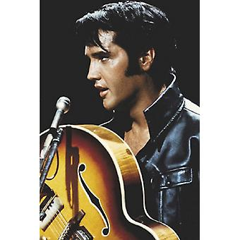 Elvis kuningas Rock and Roll Juliste Tulosta (24 x 36)
