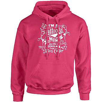 I'm a Tattooed Mum Except Much Cooler Unisex Hoodie 10 Colours (S-5XL) by swagwear