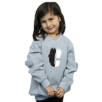 Disney Girls Alphabet C Is For Cruella De Vil Sweatshirt