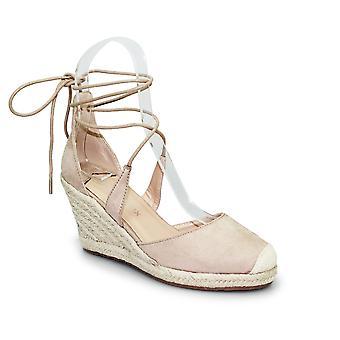 Lollyfox Carmen Lace Up Wedge Sandal