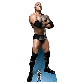 The Rock Dwayne Johnson Arms Crossed WWE Lifesize Cardboard Cutout / Standee / Standup