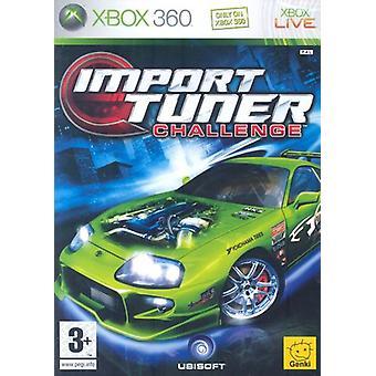 Importér tuner Challenge (Xbox 360)-ny