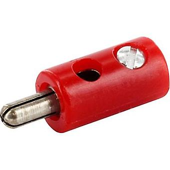 econ connect HOSSRT Jack plug Plug, straight Pin diameter: 2.6 mm Signal red 1 pc(s)