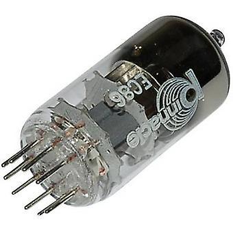 EC 86 Vakuumrohr Triode 175 V 12 mA Anzahl der Stifte: 9 Basis: Noval Inhalt 1 Stk.(s)