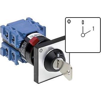 Kraus & Naimer CH10 A200-600 FT2 V750D/3H Isolator switch 20 A 1 x 60 ° Grey, Black 1 pc(s)