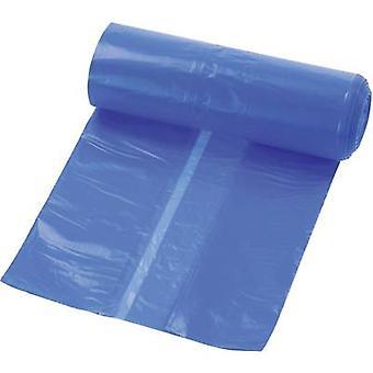 kwb 9899-22 Bin liner 120 l Plastic (L x W) 1100 mm x 700 Blue 10 pc(s)