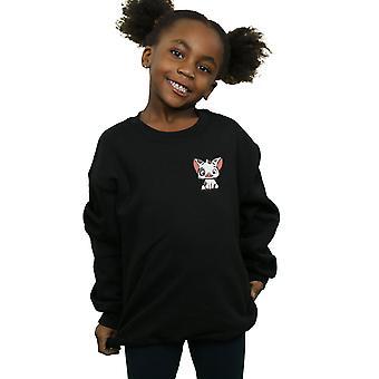 Disney flickor Moana Pua den gris bröst Print tröjan