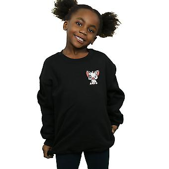 Disney Girls Moana Pua The Pig Breast Print Sweatshirt