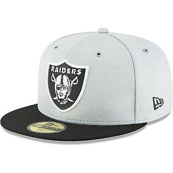 Nieuwe era 59Fifty Cap - zijlijn huis Oakland Raiders