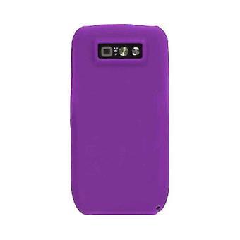 Wireless Solutions Silicone Gel Case for Nokia E71x (Dark Purple)