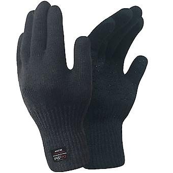 DexShell Flame Retardent Mens Waterproof Breathable Cut Resistant Gloves - Black