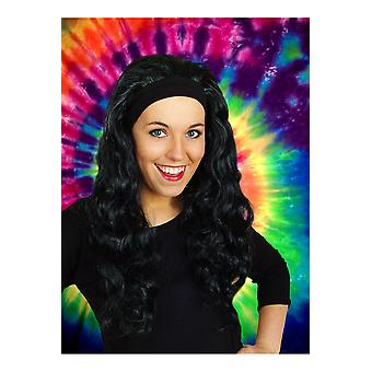 Wigs  Wig with long hair and hair band Jenna Black