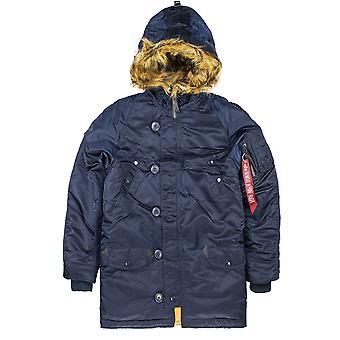 Alpha industries kids winter jacket N3-B VF fake fur