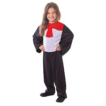 Cat costume with Red Bow , Large