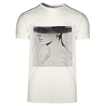 Antony Morato Sport Crew Neck 'Animal Kingdom' Cream T-Shirt