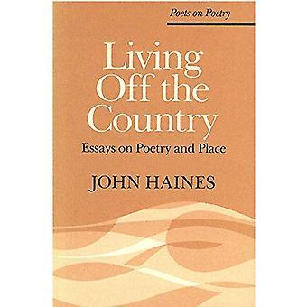 Viven fuera del país: ensayos sobre poesía y lugar