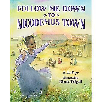 Følg meg ned til Nikodemus Town: basert på den sanne historien om den afroamerikanske Pioneer bosetningen