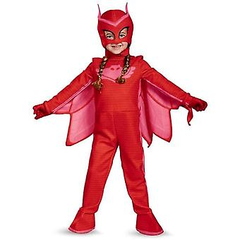 Deluxe PJ Masks Owlette Costume Girls