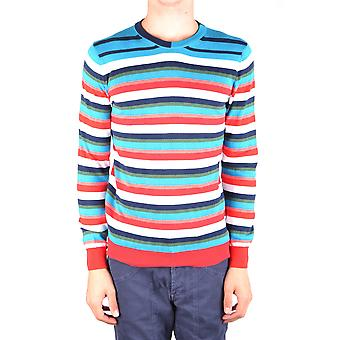 Daniele Alessandrini Ezbc107091 Men's Multicolor Cotton Sweater