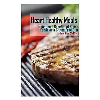 القلب وجبات صحية الفوائد الغذائية من الأطعمة سوبر أو اتباع نظام غذائي خال من الغلوتين من قبل ساتر وجنيفر